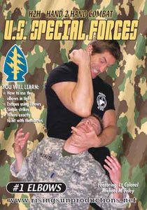 US Special Forces H2H Elbows DVD Michael Foley