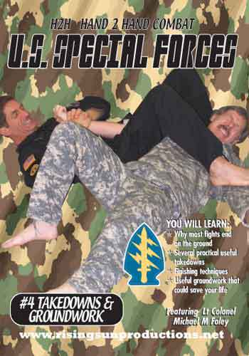 US Special Forces H2H Takedowns Locks Arm Bars DVD
