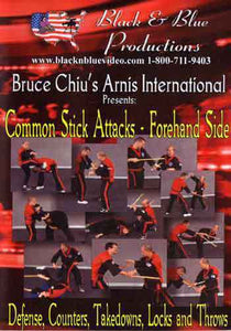 Arnis Common Stick Attacks Forehand DVD Bruce Chiu