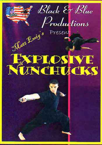 Tournament Karate Explosive Nunchaku DVD Matt Emig