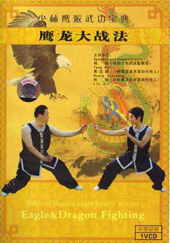 Eagle vs Dragon Kung Fu DVD