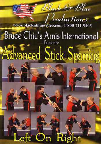 Arnis Advanced Stick Sparring Left Right DVD Chiu