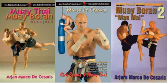 Muay Thai Budo 3 DVD Set De Cesaris