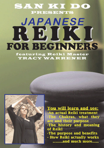 Japanese Reiki DVD Tracy Warrener chakras reflexology health happiness