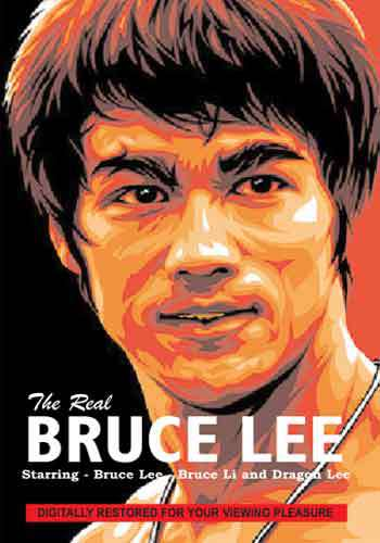 The Real Bruce Lee documentary DVD starring Bruce Lee, Bruce Li, Dragon Lee
