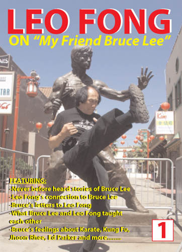 Leo Fong On My Friend Bruce Lee DVD