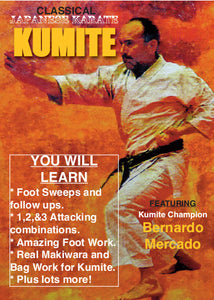 Traditional Japanese Kumite #1 DVD Bernardo Mercado