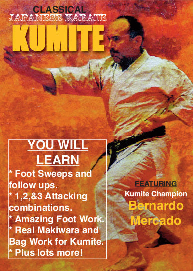 Traditional Japanese Kumite #1 DVD Mercado