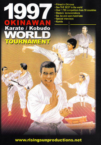 1997 Okinawan Karate Kobudo World Tournament DVD