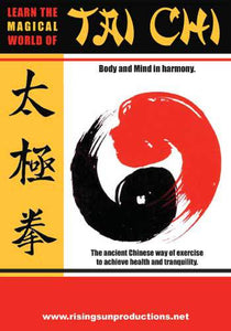 Learn Magical World Of Tai Chi DVD Adams