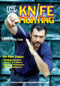 Knife Fighting Cangaceiro DVD Testa