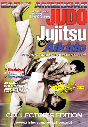 Early American Judo & Jujitsu DVD