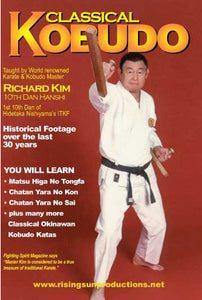 Classical Kobudo Karate Weapons DVD Richard Kim
