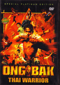 Ong Bak Thai Warrior movie DVD kung fu action