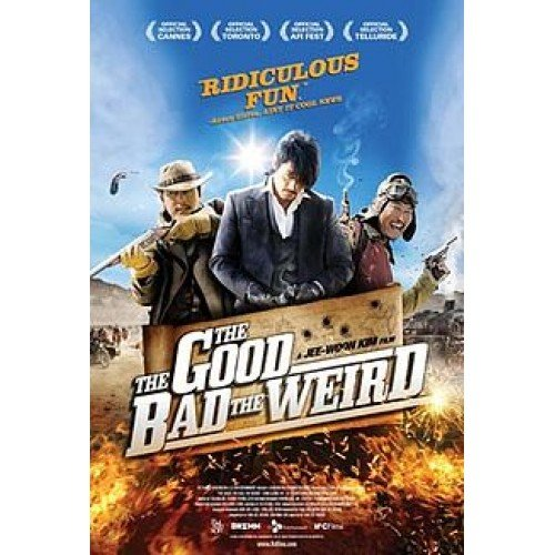 The Good Bad and The Weird DVD
