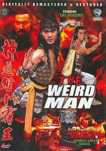 The Weird Man movie DVD Chang Cheh