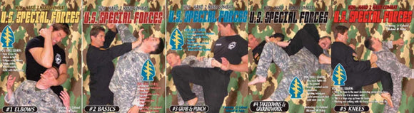 US Special Forces H2H (Hand to Hand Combat) 5 DVD Set