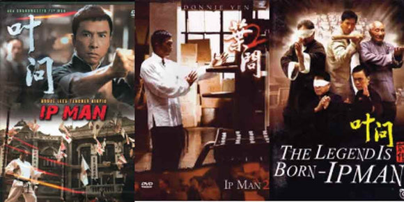 Ip Man Trilogy 3 DVD Set