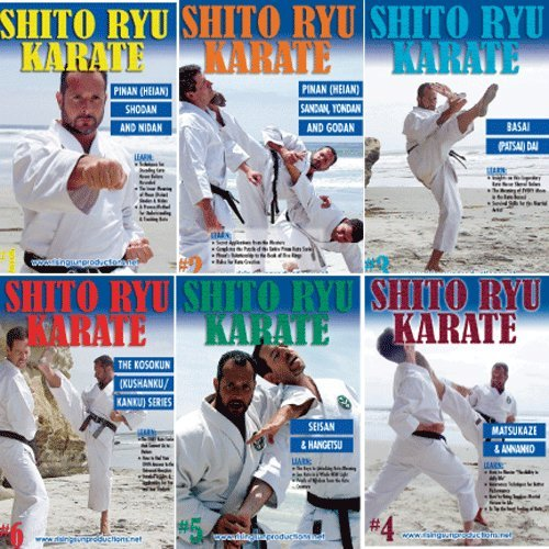 Shito Ryu Karate 6 DVD Set Neville Billamoria