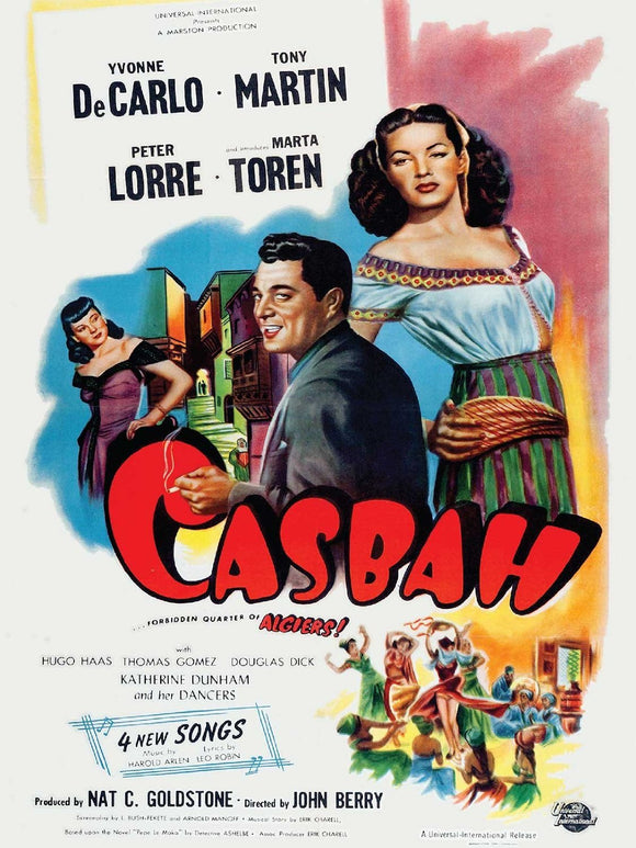 The Casbah movie DVD Yvonne DeCarlo