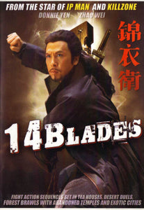 14 Blades - Kung Fu Action DVD Donnie Yen