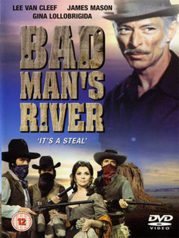 Bad Man's River DVD Lee Van Cleef
