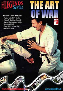 Art of War #3 DVD martial arts fights 70s-80s
