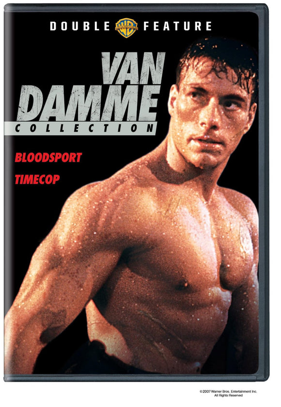 Van Damme Collection Bloodsport Timecop DVD