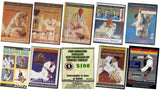 7 DVD Set Brazilian Jiu Jitsu: Francisco Mansur + Robin Gracie + More!