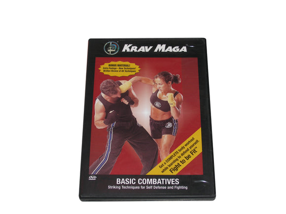 Krav Maga Basic Combatives Self Defense Fighting DVD IDF Israeli Military