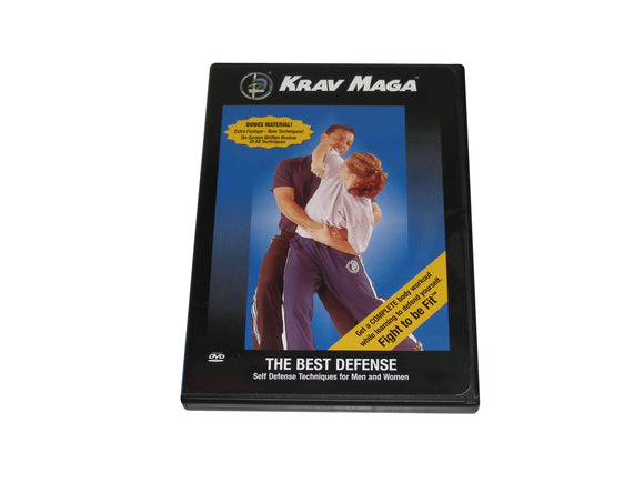 Krav Maga the Best Defense DVD self idf Israeli Military Yanilov Levine chokes