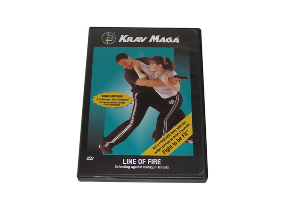Krav Maga Line of Fire Defending Against Handgun Threats DVD Yanilov Levine IDF