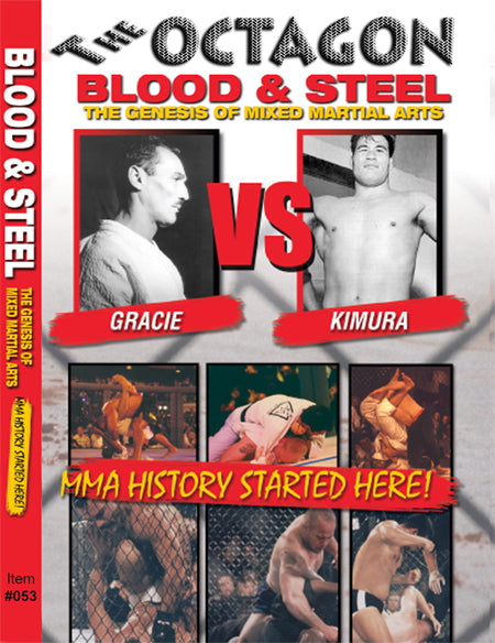 Octagon Blood & Steel Genesis of Mixed Martial Arts Documentary DVD Helio Gracie