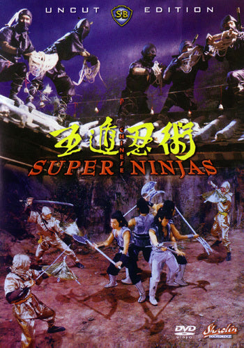 Chinese Super Ninjas DVD