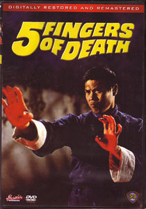 Five Fingers Of Death DVD