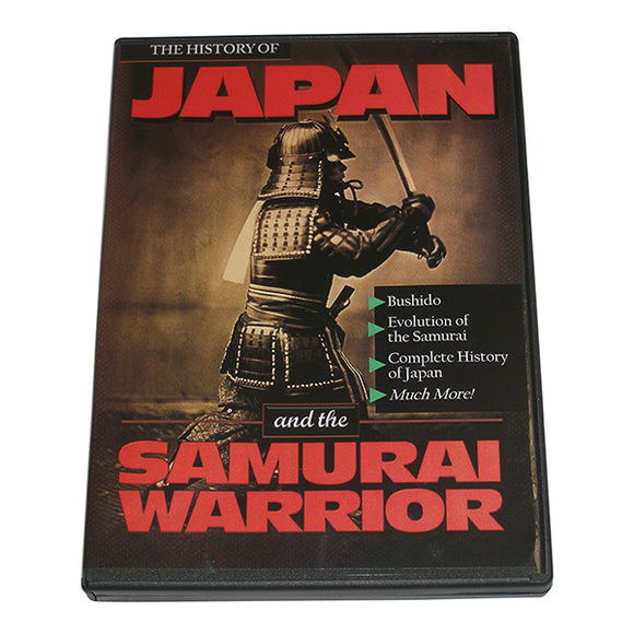 History of Japan Samurai Warrior DVD