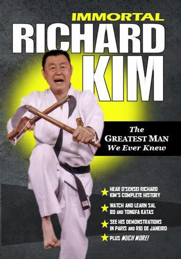 The Immortal Richard Kim (Greatest Man We Ever Knew) DVD