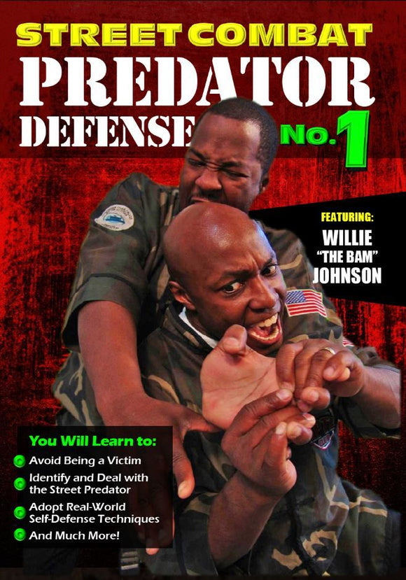 Street Combat Predator Self Defense Fighting #1 DVD Willie