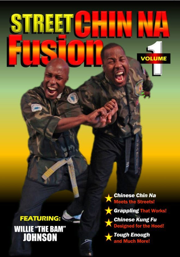 Street Chinese Chin Na Fusion #1 Self Defense DVD Willie