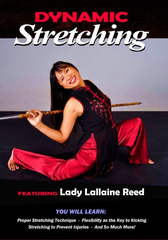 Dynamic Stretching DVD Lallaine Reed Martial Arts kicking flexibility