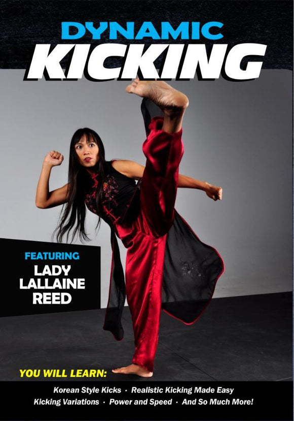 Dynamic Kicking DVD Lallaine Reed Korean Martial Arts taekwondo flexibility