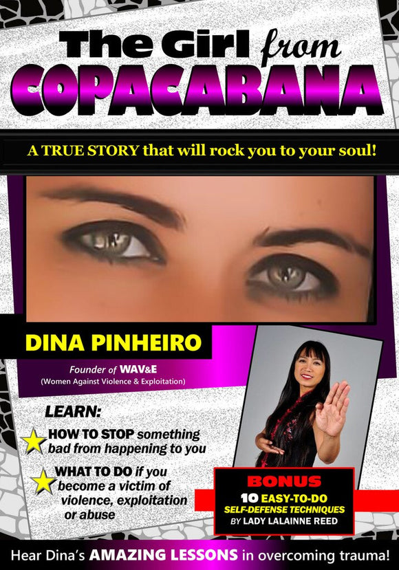 The Girl From Copacabana DVD Dina true story and self defense WAV&E