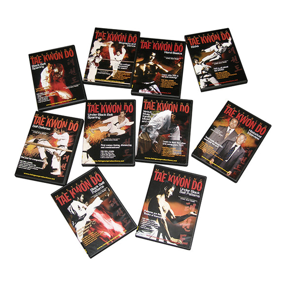 Mastering Tae Kwon Do Korean Karate 10 DVD Set Comprehensive Training Program