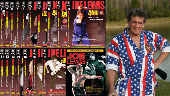 Joe Lewis Comprehensive American Karate Course 18 DVD Set