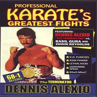 Alexio v Gura Reynolds Pro Karate Greatest Fights DVD