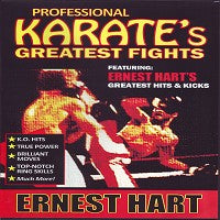 Ernest Hart 1980s 1990s Professional Karate Greatest Fights DVD