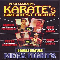 Piotrowski v Kaman, Cunningham v Diafat Professional Karate Greatest Fights DVD