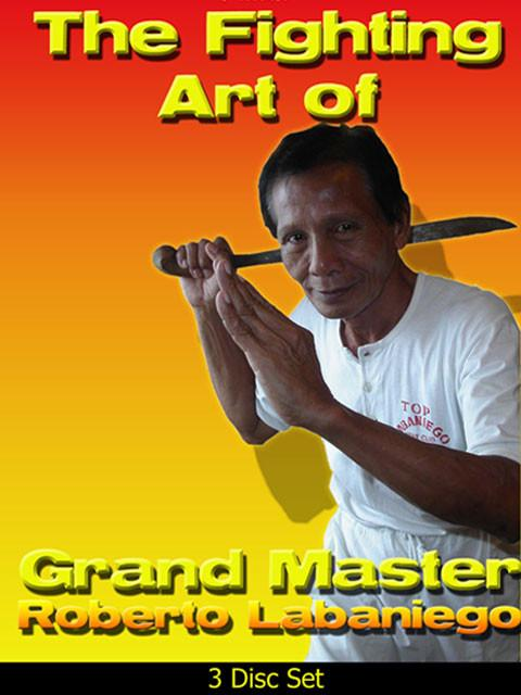 3 DVD SET Filipino Fighting Art Roberto Labaniego Mang Bert escrima kali arnis