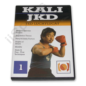 Ted Lucaylucay Kali Escrima Jeet Kune Do JKD DVD #1 angles attack weapons