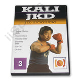 Ted Lucaylucay Kali Escrima Jeet Kune Do JKD DVD #3 counters trapping don chi